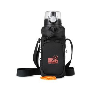 Dog Walker Hydration Sling Black