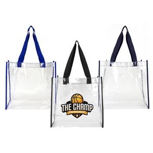Clear Stadium Open Tote