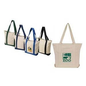 Cotton Boat Tote Bag